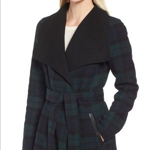 Mackage Double Face Wool Belted Coat